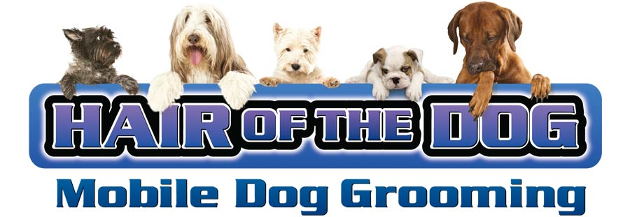 Hair of the Dog Mobile Grooming Logo Header
